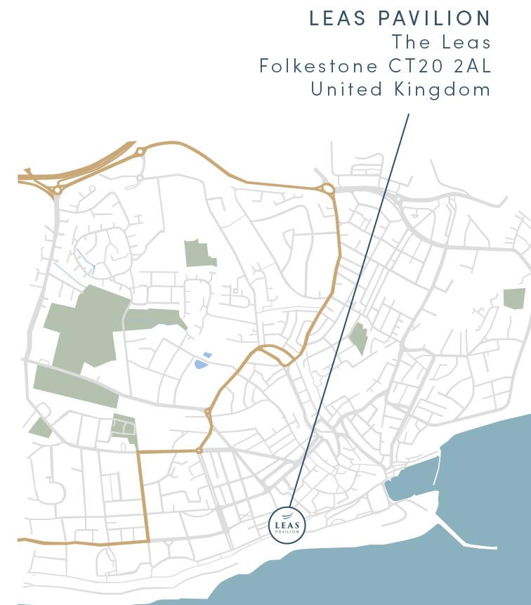 Leas Pavilion Map